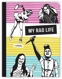 My rad life written by Kate Schatz illustrated by Miriam Klein Stahl